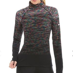 Nike Hyperwarm Multicolor Ombre Turtleneck